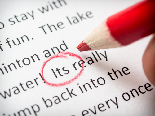 proofread when copywriting