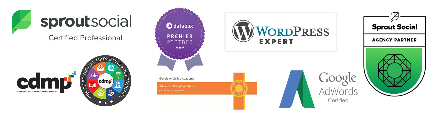 web design and marketing certifications expertise