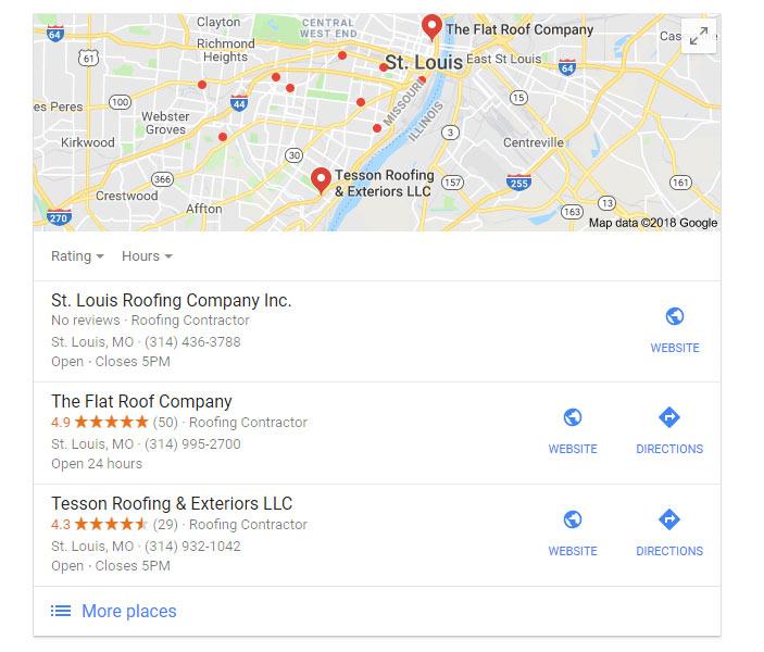 local search seo google